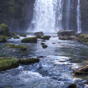 ⑪再び、願いを叶える滝へ行く