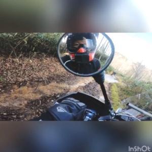 ヤマハセローで張碓林道ツーリング動画