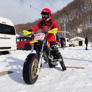 北海道スノーライディングレース体験