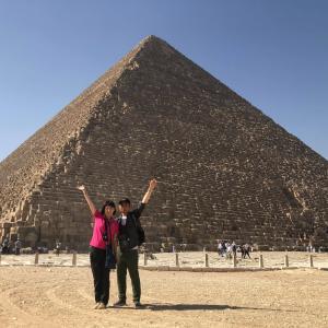 エジプトいいとこ、一度はおいで!!⑧ 最後のオオトリはギザのピラミッドとスフィンクス