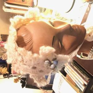 雪の結晶のヘッドドレス