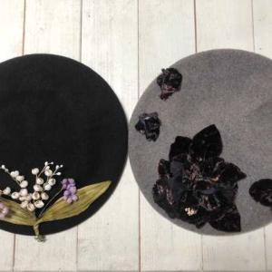 ベレー帽の追加