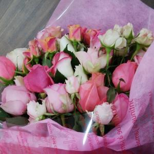 ☆かね庵☆庭楽育☆大きな花束、ありがとうございました!@さんだ