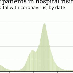 コロナ入院患者数の半分は入院後に感染⁈