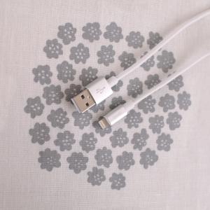 話題のダイソー商品、コスパ最強のライトニングケーブル!AppleのMFi認証取得済で安心!