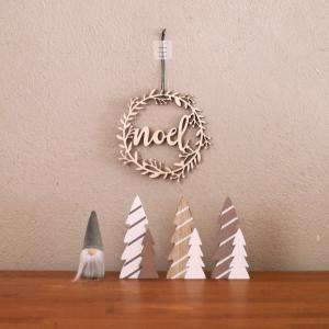 【ニトリ・セリア】クリスマスグッズ!ナチュラルな木のインテリア雑貨