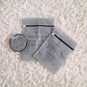 【キャンドゥ】話題の新商品!おしゃれで実用的な、グレーのランドリーネット!
