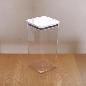 シンプルな魅せる【保存容器】ワンタッチで簡単に密閉&フタ裏に収納!