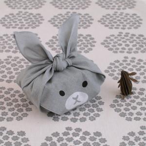 【100均】ランチグッズ!包んだ姿が可愛いすぎる、動物柄のミニ風呂敷!