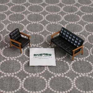 インテリア好き注目の【ガチャ】カリモク60のミニチュア家具!