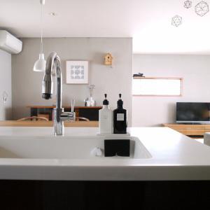 無印風【100均】ラベルシール!キッチン詰め替えボトルを便利に!