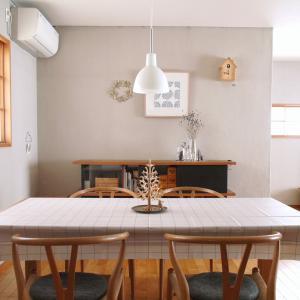 【100均】テーブルクロスは、実用的でコスパ抜群!気軽に模様替え!