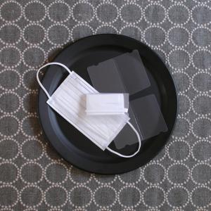 折りたたみ【マスクケース】が一時置きに便利!簡単&コンパクトに収納!