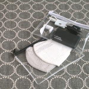 【キャンドゥ】大人気コラボの収納アイテム! クリアポーチがおしゃれで便利!