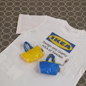 話題の【イケア】新商品を購入!大人気のロゴTシャツ&可愛すぎるミニバッグ!