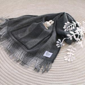 可愛い【ポケット付きショール】羽織るだけでおしゃれ!暖かいのにかさばらない!<PR>