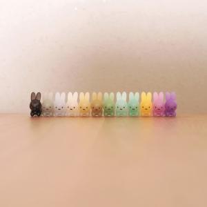 大人気【100均】ミッフィー・テトラフィビッツ新作!『ブルーナうさぎ』が可愛すぎてコンプリート!