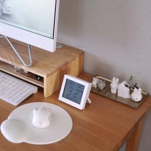話題の【ダイソー】新商品!知りたい情報が全部わかる『デジタル温湿度計』!無印似のシンプルデザイン!