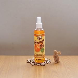 木のお手入れに【オレンジオイル】が簡単で便利!無垢材ダイニングテーブルをメンテナンス!