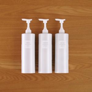 浴室ボトルに新発想!詰め替えストレスなしの真っ白スマートホルダー!