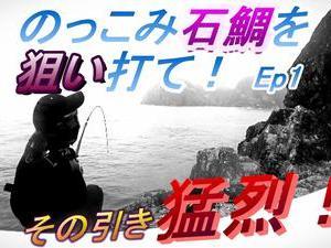 youtube 石鯛釣動画 1話 公開