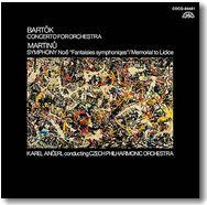 アンチェルのバルトーク/管弦楽のための協奏曲