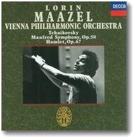 マゼール=ウィーンフィルのチャイコフスキー/マンフレッド交響曲