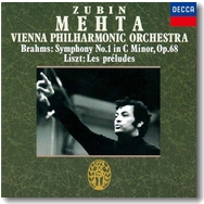 メータ=ウィーンフィルのブラームス/交響曲第1番