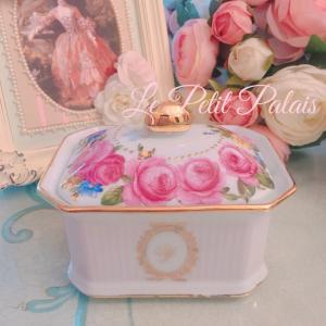 ゴージャスな薔薇BOXのポーセラーツワンデーレッスン