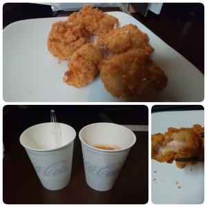 若鶏の唐揚げ(5個) in 快活CULB