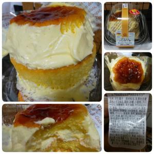 ブリュレパンケーキ in ファミリーマート