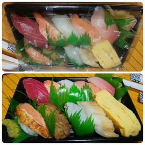 極旨人気10種セット in くら寿司