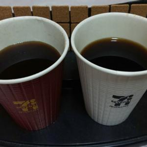 ホットコーヒー R or グアテマラブレンド R in セブンイレブン