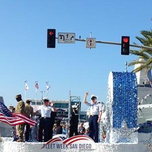 ベテランズデー(Veterans Day)のパレードへ