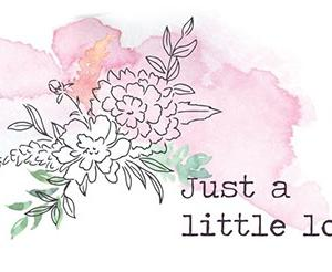 ピンクフレッシュスタジオの新作ジャスト・ア・リトル・ラブリー(Just A Little Lovely)で久々スクラップブッキング