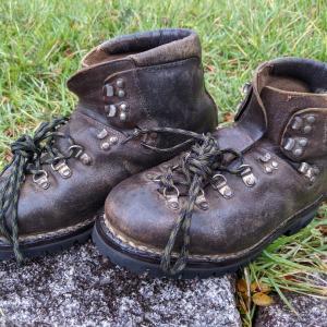 重登山靴 ビブラム張替え
