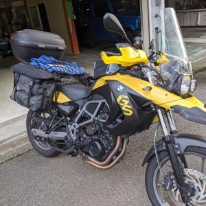 キャンプツーリング with GSX1400