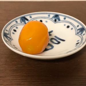 季節が終わってしまう 金柑をレンジでチン