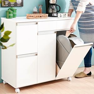 新しいキッチンのゴミ箱