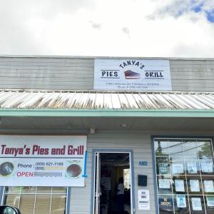 ハリケーンとワヒアワで有名なパイのお店「Tanya's Pies and Grill」