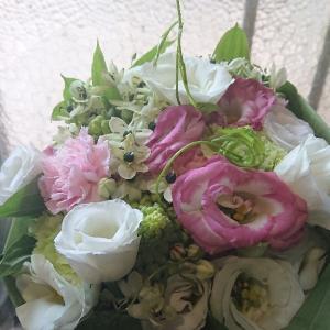 近況、アドに、温かい想いと、お花を有難うございます。