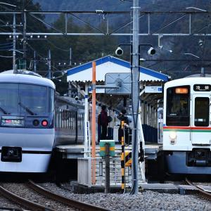 21電車×2002電車 東吾野交換