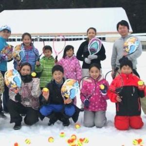 スノーテニスイベントのお知らせ