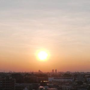 熱射の太陽が沈む!