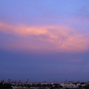 今日の夕焼け空~