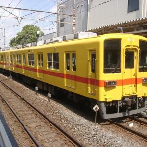 東武8000系黄色編成