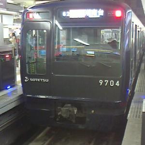 相鉄9000系@横浜駅