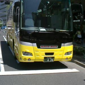 本日は観光バス記念日です。