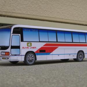 小豆島バス 三菱ふそうU-MS726S 1991年式