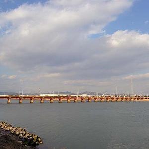 久しぶりの加古川橋梁